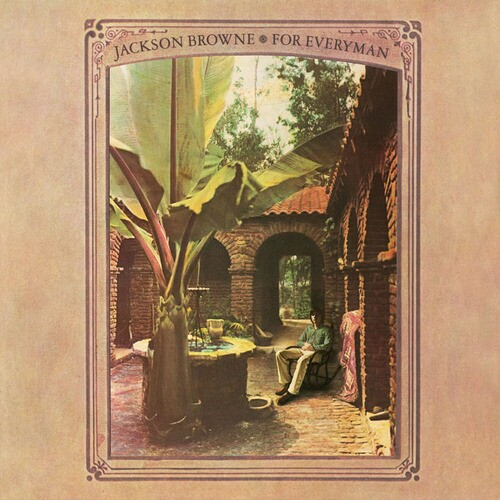 Cover of Jackson Browne's 'For Everyman' album | Photo: Alan F. Blumenthal; Art direction/design: Anthony Hudson