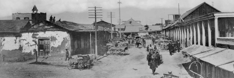 Calle de los Negros, circa 1886 (cropped)