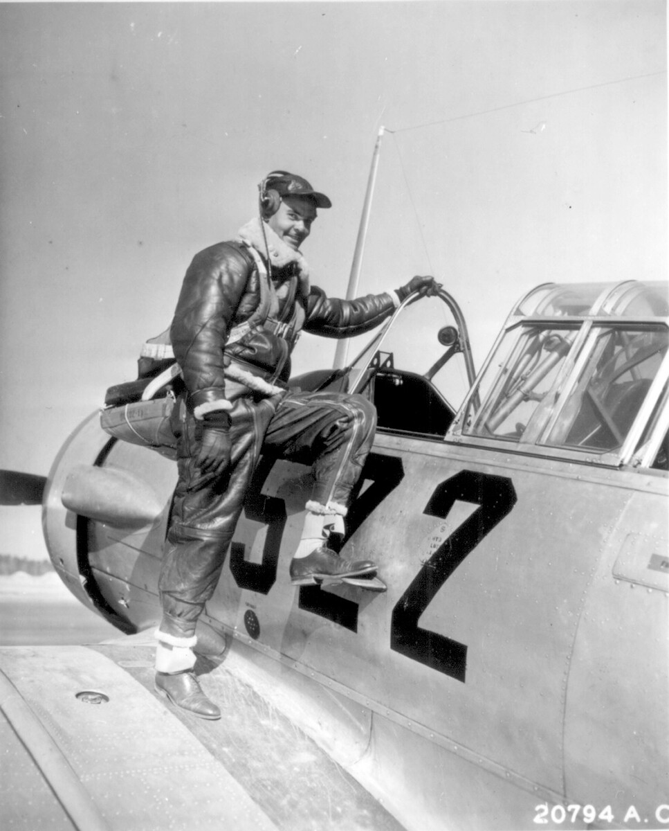 Benjamin O. Davis Jr., one of the first Tuskegee Airmen, went on to become first African American general in U.S. Air Force.   Courtesy of the U.S. Air Force