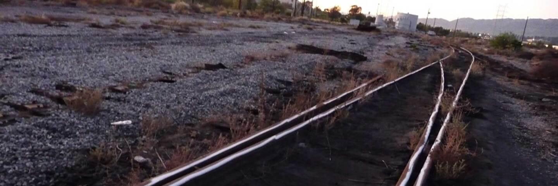 Tracks at Taylor Yard
