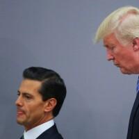 Enrique Peña Nieto and Donald Trump