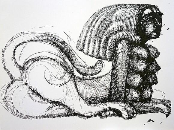 """""""Sphinx"""" by David Settino Scott."""