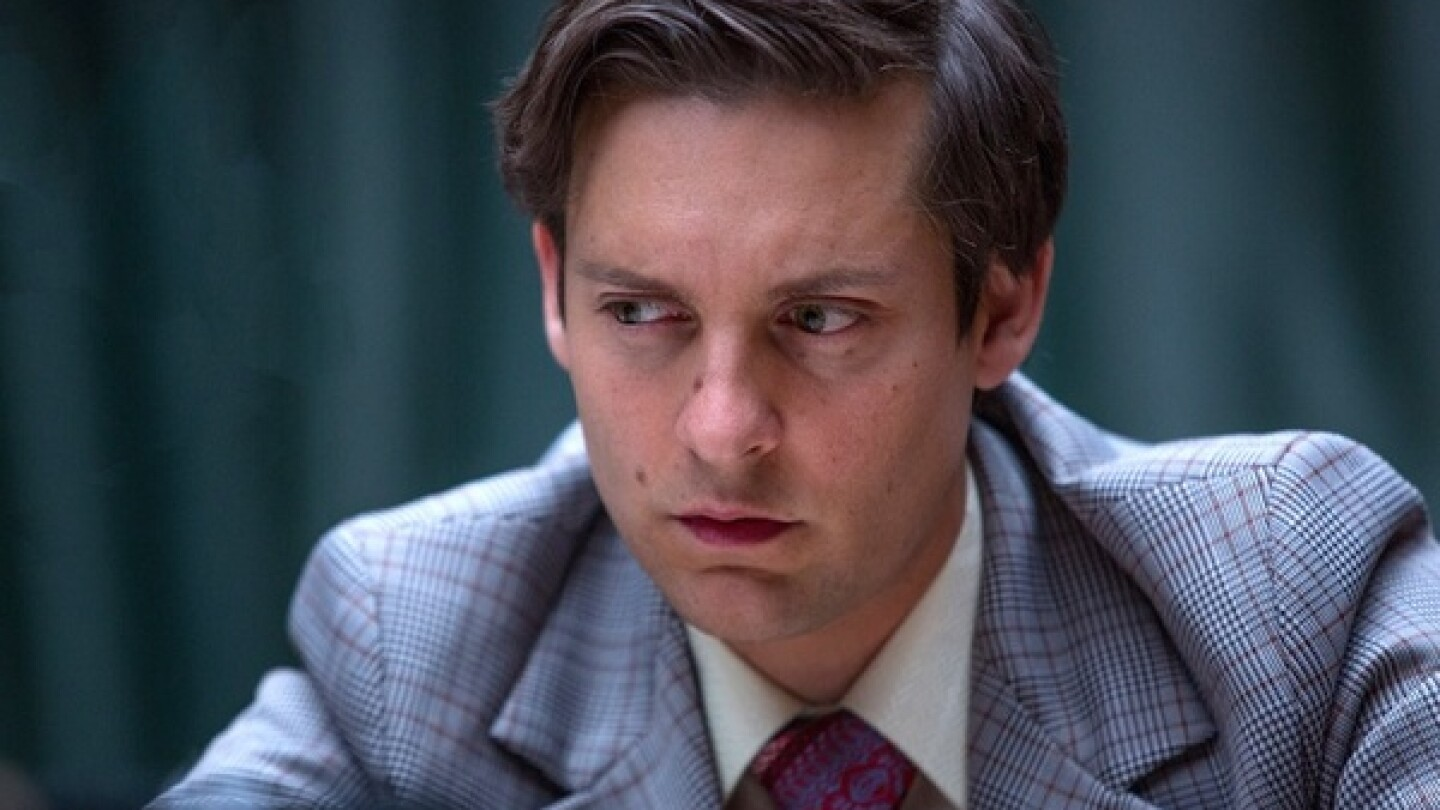 Tobey Maguire as Bobby Fischer in Pawn Sacrifice