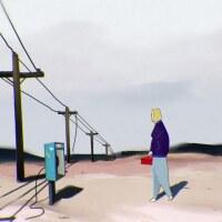 "A still fromJenna Caravello's short animated film ""Frontier Wisdom.""   Courtesy of Jenna Caravello"