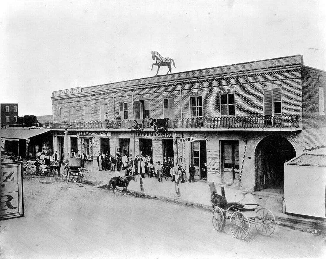 Early LA Italian Store