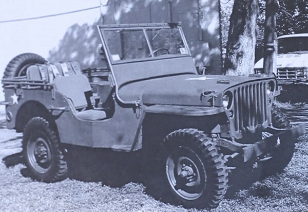 Jeepneys are converted from surplus military jeeps such as this