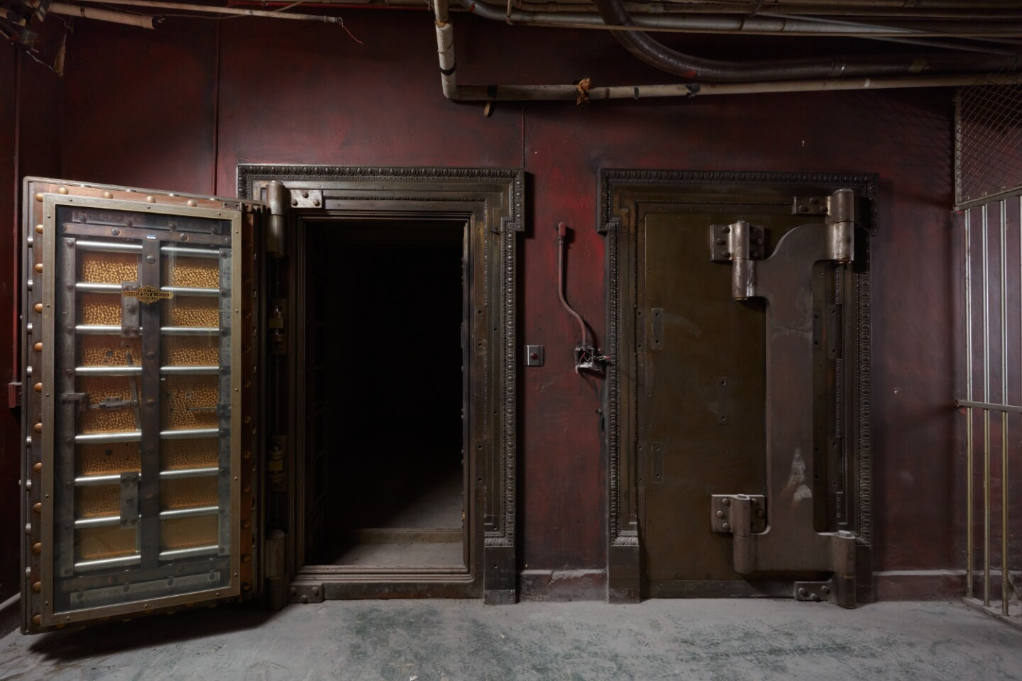 Vaults at the Main Museum of Los Angeles Art