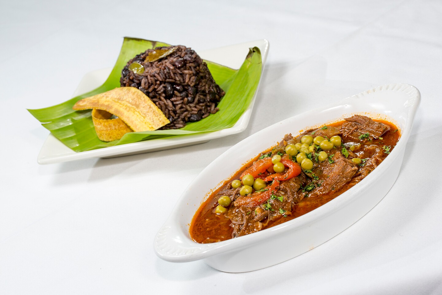 Ropa Vieja and Black Bean Rice | Courtesy of El Floridita