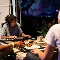 DJs play at the Decades Celebration: dublab 20th anniversary & Bedrock 10th anniversary party, September 21, 2019. | Flickr/DUBLAB/Creative Commons (CC BY-NC-SA 2.0)