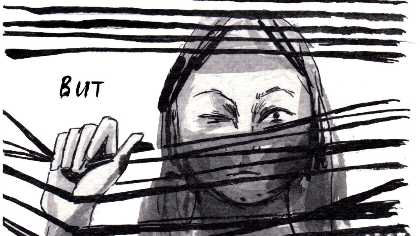 "Destroy Every Thing You Touch (page 4) | Rachel Ang/Excerpt from ""Drawing Power: Women's Stories of Sexual Violence, Harassment, and Survival,"" edited by Diane Noomin © Abrams ComicArts, 2019"
