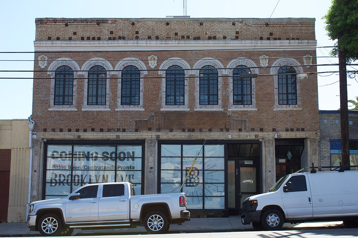 Building exterior, present day. | Andre Roman Medina