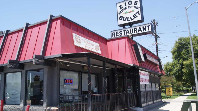 Zig's Restaurant Exterior