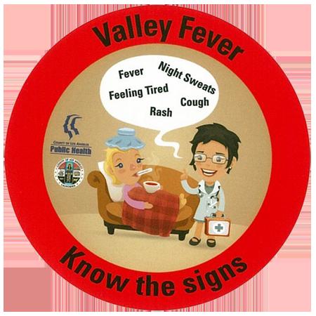 Cocci sticker | County of Los Angeles Public Health website