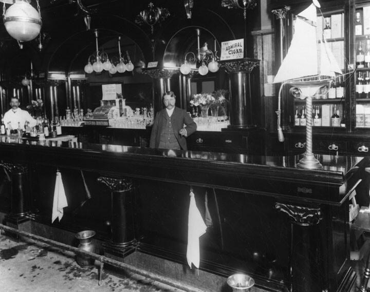Early Bar Interior