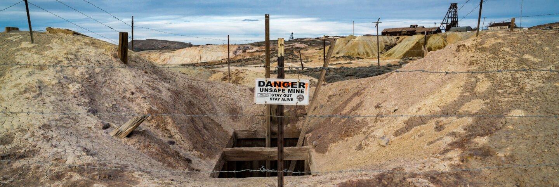 An abandoned mine in Goldfield, Nevada.   Kim Stringfellow.