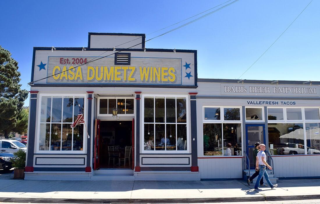 Casa Dumetz Wine   Danny Jensen