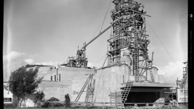 Leimert Theater under construction, 1931 | Dick Whittington Studio, Courtesy of the USC Digital Library