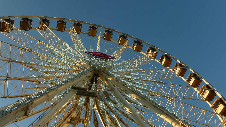ferris wheel at the la county fair