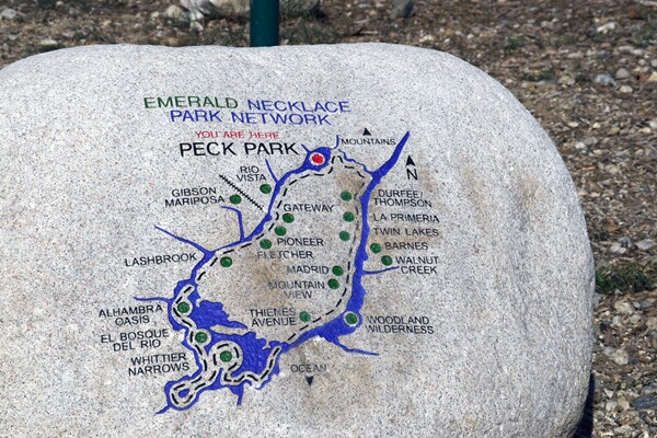 The expanded Emerald Necklance Park Network is a 68-mile greenway, encompassing communities throughout Greater Los Angeles and will link over 1,500 acres of park and green space | Photo: Yosuke Kitazawa.