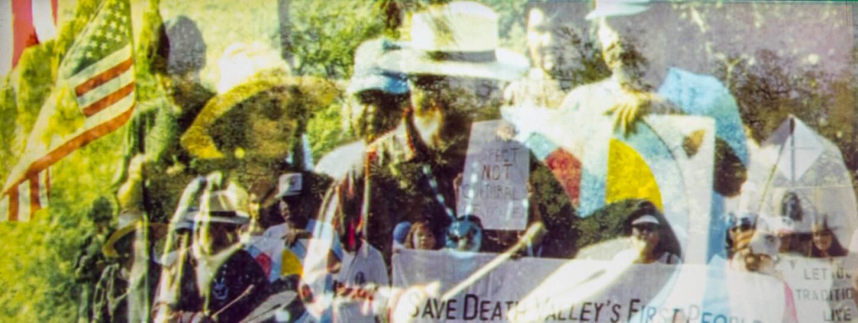 Public Demonstration for Timbisha Shoshone Tribe