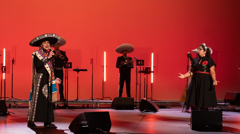 Aida Cuevas and La Marisoul at the Soraya | Ricki Quinn, Courtesy of the Soraya