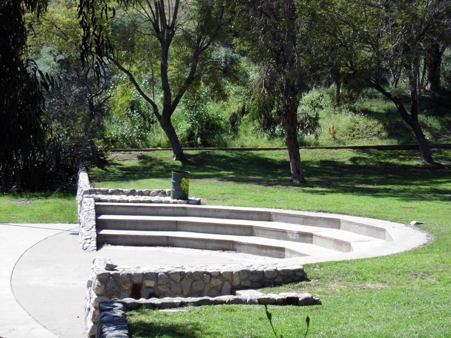 A small outdoor theater at Montecillo de Leo Politi Park. | Sandi Hemmerlein