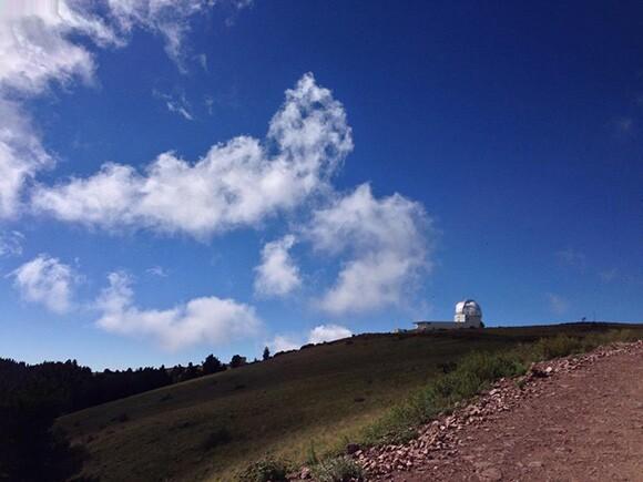 """This Distance Makes Us Feel Closer,"" Chris Kallmyer, Magdalena Ridge Observatory, Socorro County, NM | Photo: Chris Kallmyer"