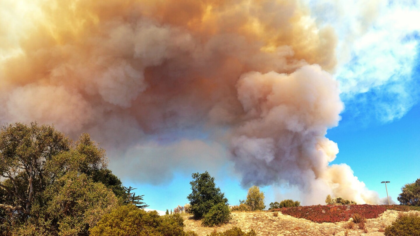 Smoke from a 2013 controlled burn | Photo: Mob Mob, some rights reserved