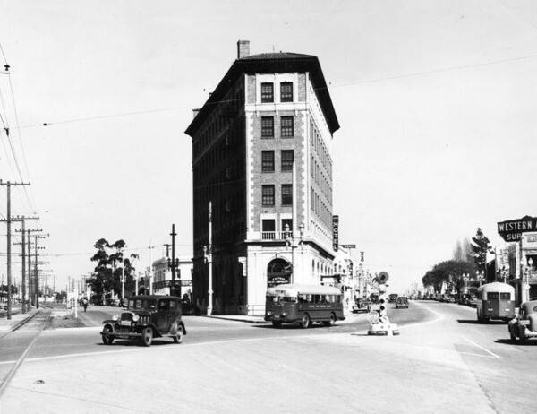 Culver Hotel, 1938 | Courtesy of the Los Angeles Public Library