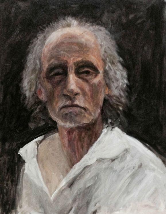 A recent self-portrait of San Luis Obispo artist David Settino Scott.