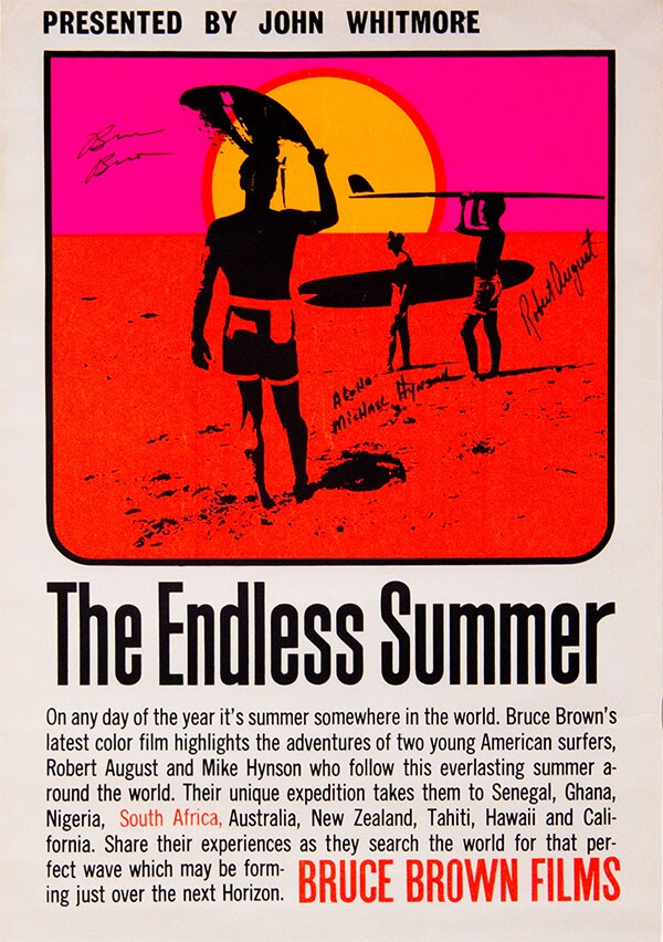 "Poster art for ""The Endless Summer"" | Bruce Brown Films, LLC"