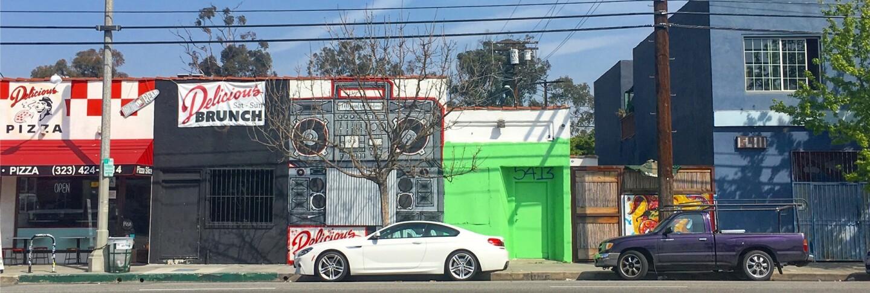 Iconic Neighborhood Restaurants: West Adams and Jefferson Park Street Scene