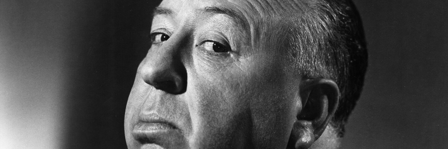 Alfred Hitchcock (courtesy of the Academy of Motion Picture Arts and Sciences)