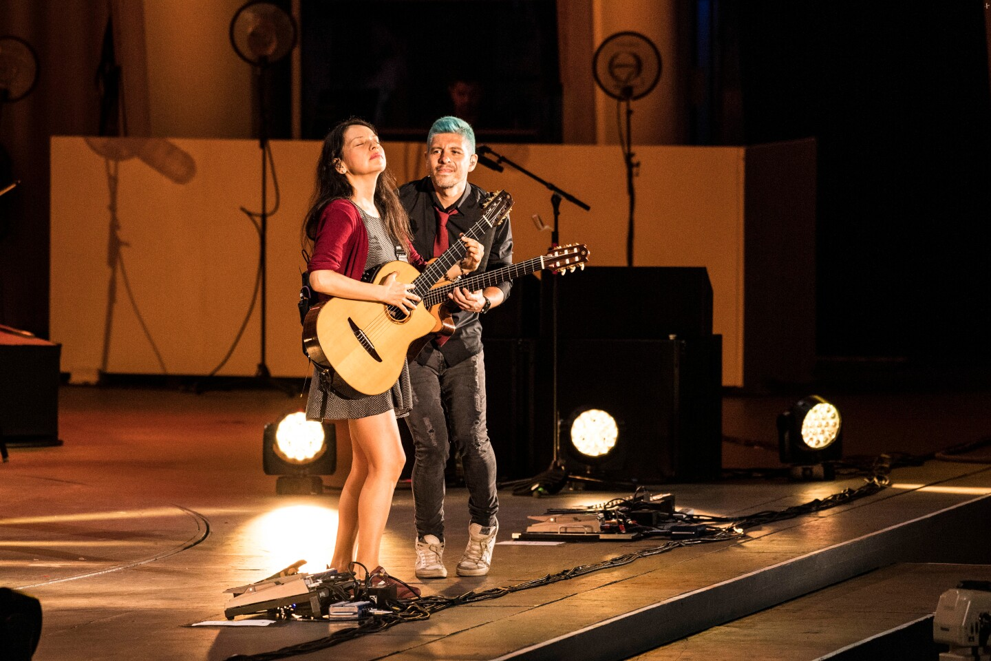 Rodrigo y Gabriela, featured in the new series IN CONCERT AT THE HOLLYWOOD BOWL (Image courtesy of Timothy Norris)