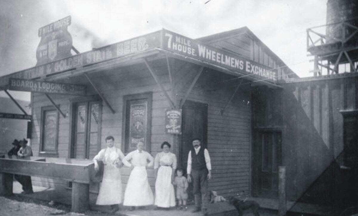 7 Mile House circa 1908 | Courtesy of 7 Mile House