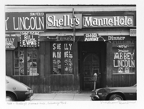 Shelley's Manne-Hole, Cahuenga Blvd., 1968 | Photo: William Reagh.