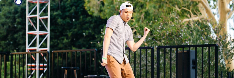 Chuck Maa returns to teach K-pop dance moves for the Music Center's Digital Dance Party on Aug. 7. | Music Center.