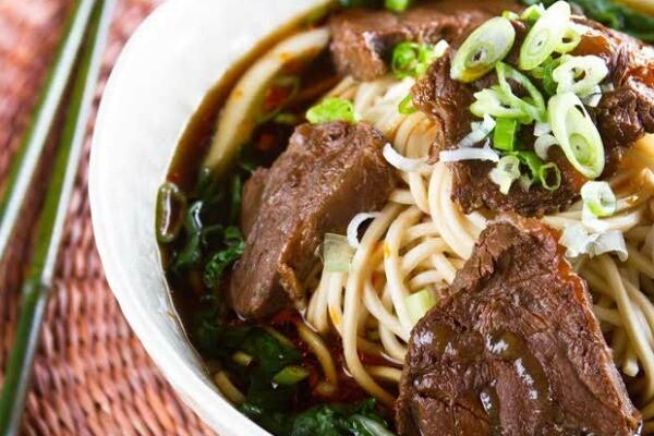 Beef noodle soup   Photo by A & J