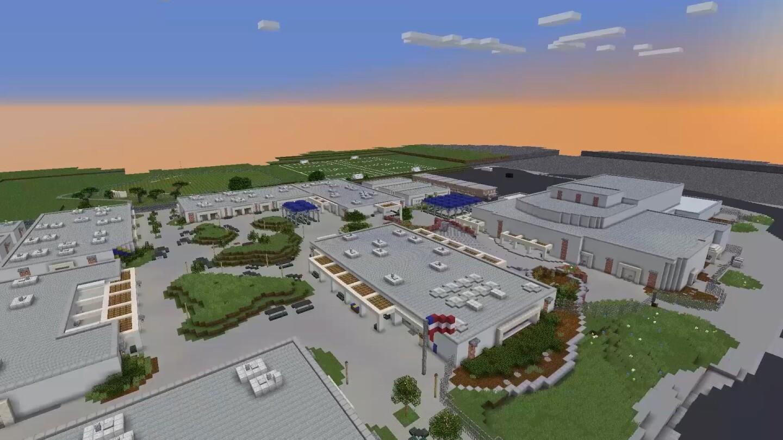 Minecraft version of West Ranch High School
