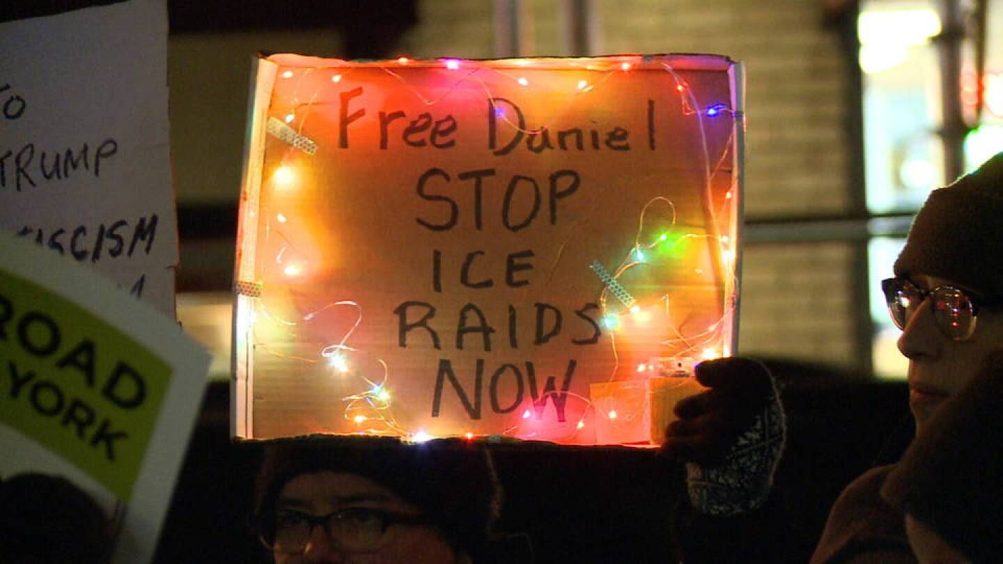 Protests Against Recent ICE Raids