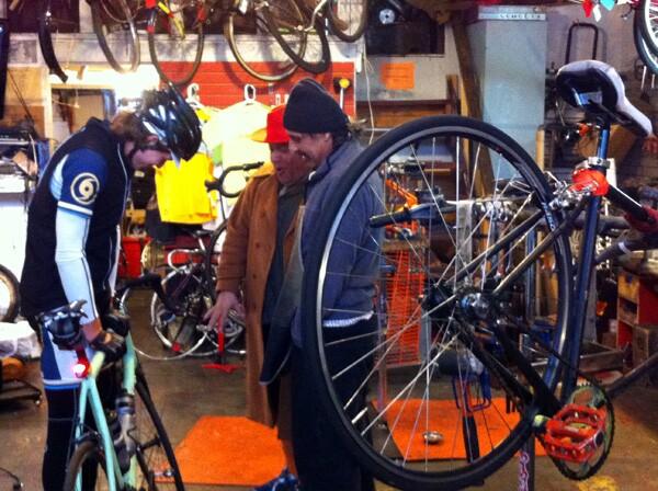 Inside the Bike Oven