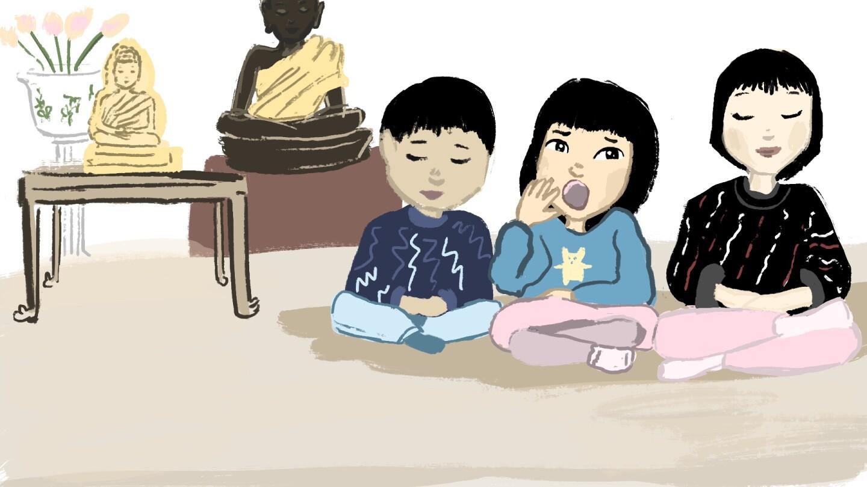 Kate My Asian American story illustration | Angel Trazo