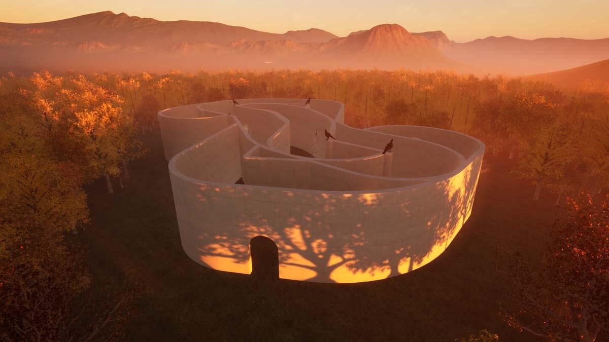 Installation view of EPOCH's Labyrinth exhibition. | Courtesy of EPOCH