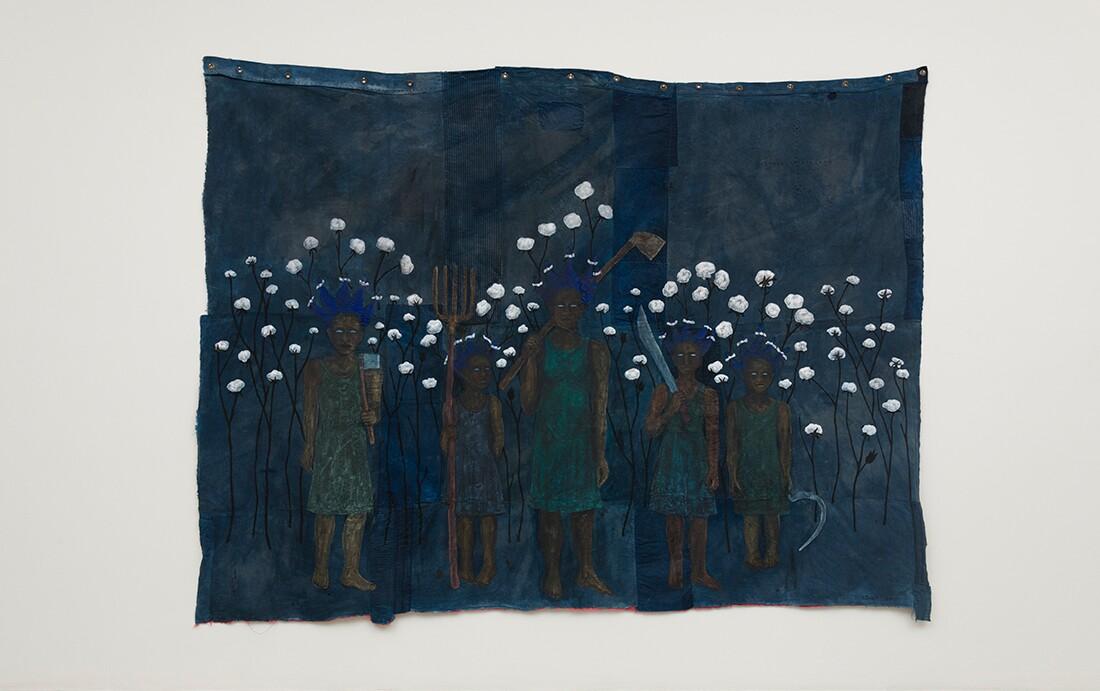 """High Cotton,"" Alison Saar, 2017 | Courtesy L.A. Louver, Venice, CA"