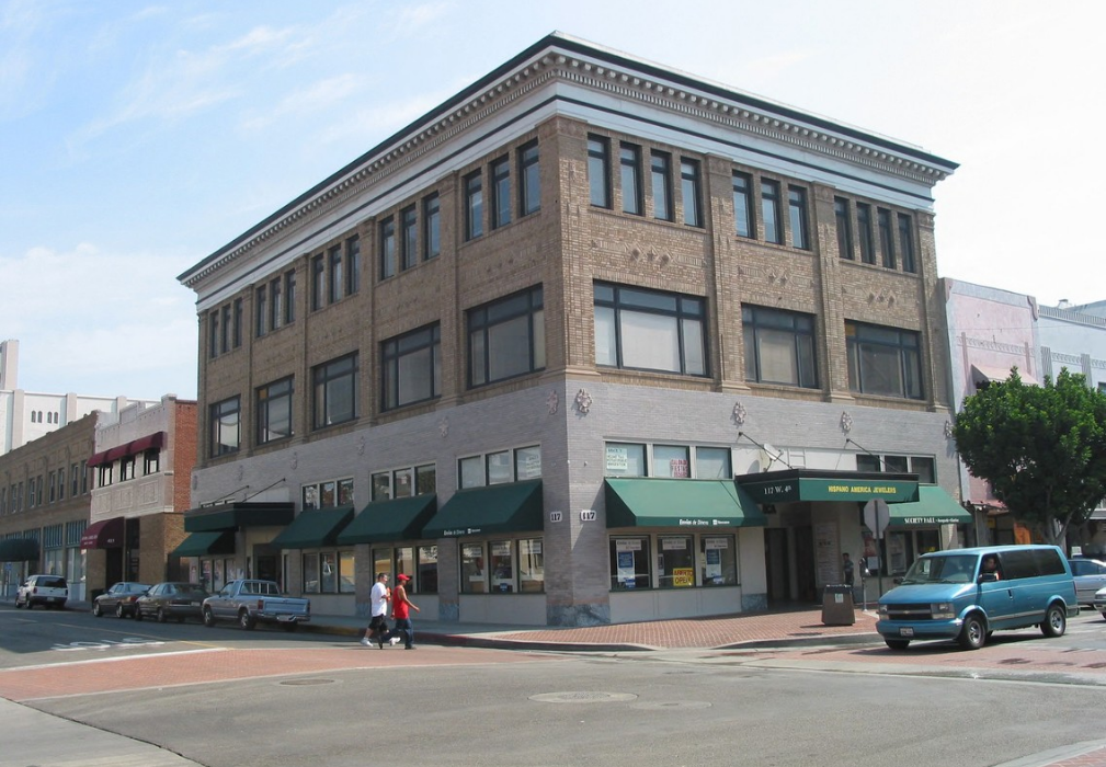 Former Rankins building in 2002