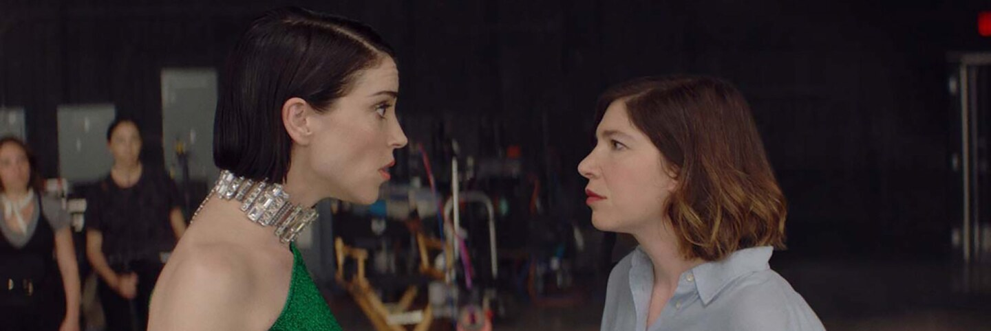 "Annie Clark and Carrie Brownstein wrote and star in the mockumentary, ""The Nowhere Inn."" 