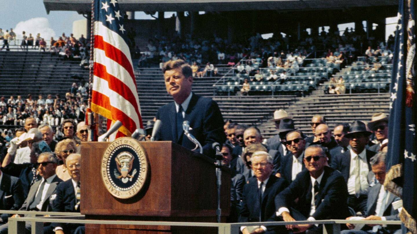 President Kennedy - We Choose to Go to the Moon | Courtesy NASA