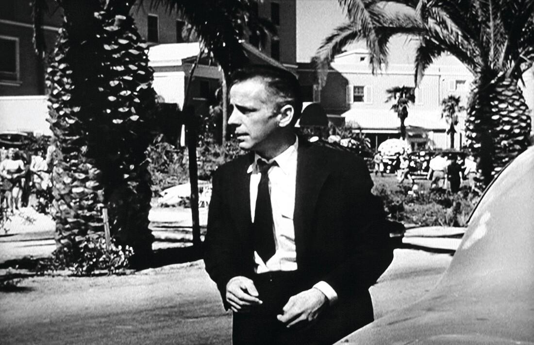 Humphrey Bogart in the 1941 movie High Sierra, partly filmed at Arrowhead Springs. 1100px