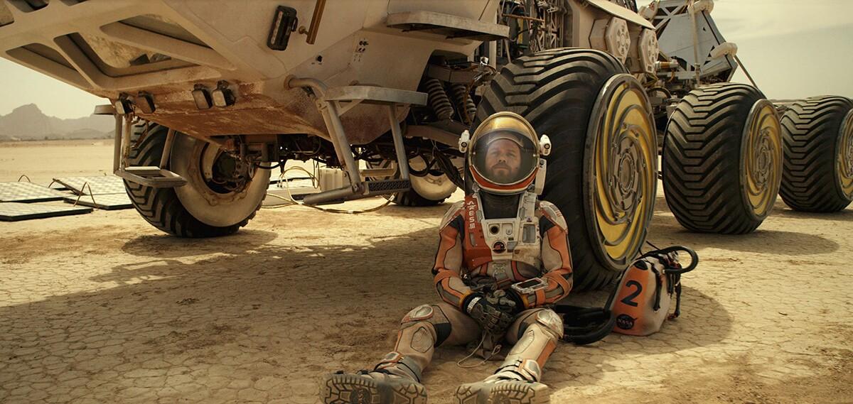 "Matt Damon in ""The Martian."" | Flickr/AntMan3001/Creative Commons (CC BY-SA 2.0)"