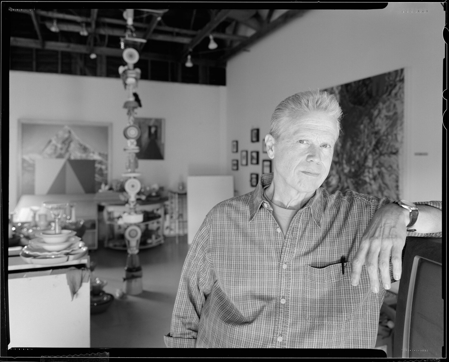 Los Angeles artist Don Suggs, by Paul O'Connor